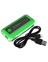 GB Portable Rounded External USB 5600 mAh Battery Charger Power Bank HTC iPhone Samsung Green