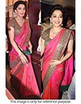 Madhuri Dixit In Georgette Replica Saree
