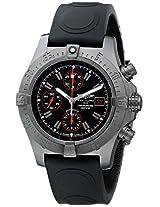 Breitling Men's M133802C-BC73 Avenger Analog Display Swiss Automatic Black Watch