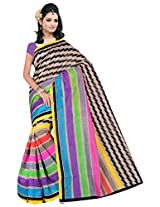 Fashion Apparel Women's Cotton Silk Saree with Blouse Piece (Multi-Coloured)