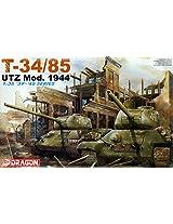Dragon T-34/85 Utz Mod. 1944 1:35 Scale Military Model Kit