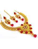 Megh Craft Designer One Gram Gold plated Jewellery - JWOG87