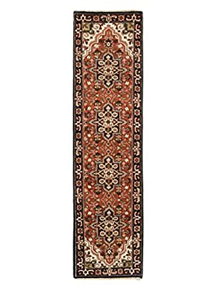 Hand-Knotted Royal Heriz Wool Rug, Copper, 2' 6