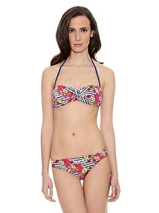 Cortefiel Bikini Estamp70 Bies Bamdo (Multicolor)