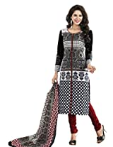 Salwar Studio Black & Red