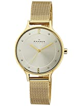 Skagen Anita Analog Silver Dial Women's Watch - SKW2150I
