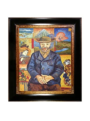 Vincent Van Gogh Portrait of Pere Tanguy Framed Oil Painting, Final Version