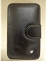 Blackberry Leather Case B (Black)