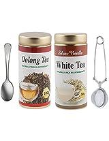 Oolong(100Grams) & White Tea(50Grams) Combo