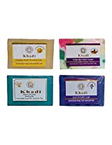 Khadi Soaps 500 Grams (Pack of 4) (CH0TLAMF)
