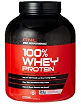 GNC PP 100% Whey Protein - 4.76 lbs (Strawberry)