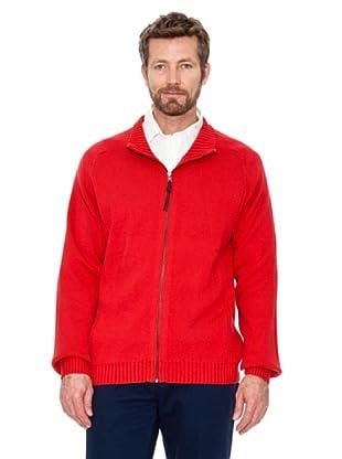 Cortefiel Cardigan Basic (Rot)