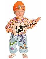Forum Novelties Baby Boy's Lil' Rock Star Baby Hippie Costume