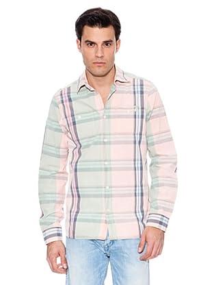 Pepe Jeans London Camisa Makaha (Rosa / Verde / Blanco)