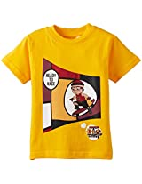 Chhota Bheem Boys T-Shirt (GGAPP-MR19B - Yellow_3-4 years)