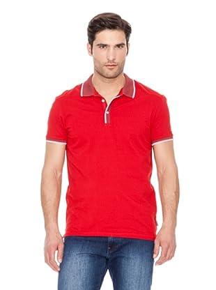 Calvin Klein Jeans Polo Piquet Mercerizado (Rojo)