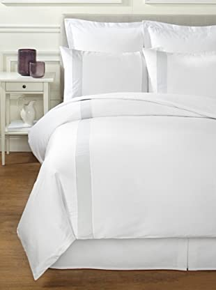 Bella Letto Doppio Duvet Set (White/Light Grey)