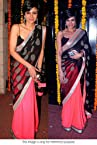 Mandira bedi bollywood Designer saree