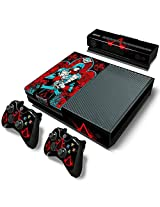Mod Freakz Xbox One Console Vinyl Skin And Controller Skin Blue Suit Red Hoods