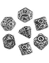 Tech Dice Metal Dice Set (7)