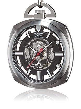 DETOMASO Uhr mit Handaufzug Testa silber