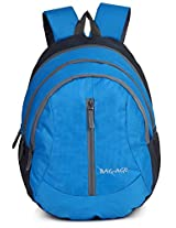 Bag-Age Happy Large School Backpack (Blue)