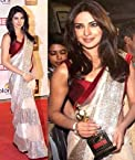 Net sarees - Priyanka chopra screen award designer net saree