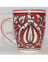 Odishabazaar Lovely Ceramic Coffee Mug (4x3x3) Inch