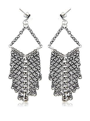 Ettika Silver-Tone Starfall Drop Earrings