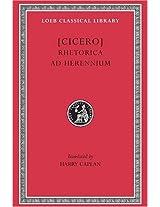 Rhetorical Treatise - Rhetorica Ad Herennium L403 V 1 (Trans. Caplan)(Latin): 001 (Loeb Classical Library)