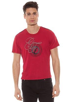 Gianfranco Ferré Camiseta Brújula (Rojo)