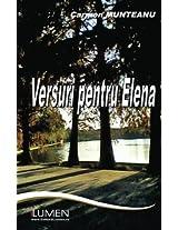 Versuri pentru Elena