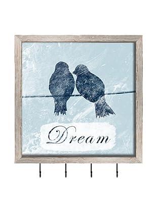 PTM Images Dream Key/Jewelry Organizer, White