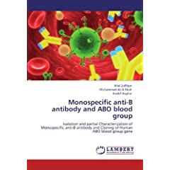 Monospecific Anti-B Antibody and Abo Blood Group