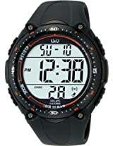 Q&Q Standard Dual Time Digital White Dial Men's Watch M010-001