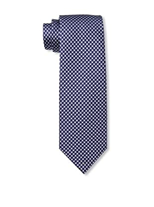Yves Saint Laurent Men's Circles Tie, Purple