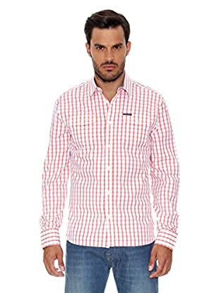 Pepe Jeans London Camisa Hombre Darjeeling (Rosa Claro)
