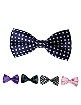DBFF0005 Various of Colors Boys Satin Presents For Polyster Boys Pre-Tied Bow Ties Set - 5 Styles Available By Dan Smith