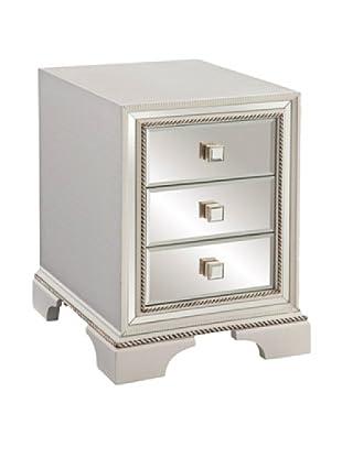 Bassett Mirror Company Armando Chair-Side Chest, White