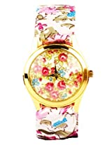 Floral Tie-up Multi-color Analogue Women's Watch