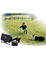 Greenwon Electric Underground Pets Dogs Fence Hidden Invisible Fencing Systems Kit Rechargeable Bark Control Dog...
