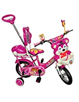 HLX-NMC KIDS BICYCLE 12 NAVIGATOR PINK/WHITE