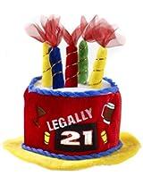 Legally 21 Birthday Cake Hat