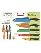 Hampton Forge Splash 16-Piece Knife Set, HMC01A197E