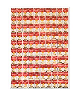 Artopweb Wandbild One Hundred Cans, 1962 mehrfarbig