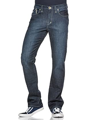 Hot Buttered Pantalón Fit Denim (Azul)