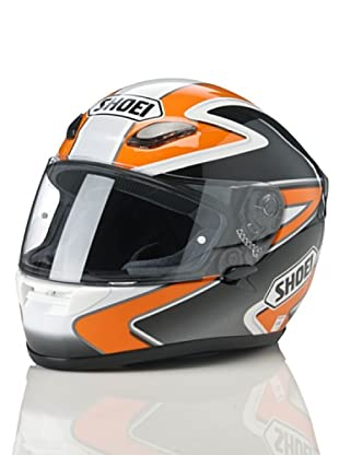 Shoei Casco Xr 1000 Gráfica (Blanco / Naranja)