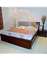 A-one Foldable Double Bed Fish Printed Mosquito Net