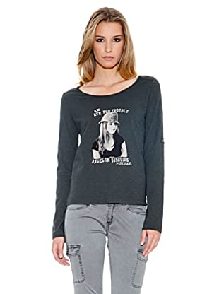 Pepe Jeans London Longsleeve Jamilah (Anthrazit)