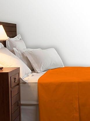 Pikolin Sábana Encimera 100% Algodón (Naranja)